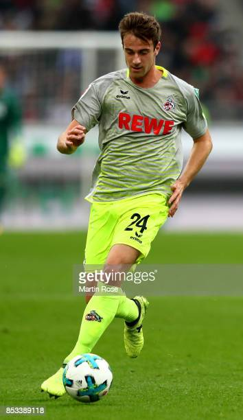 Lukas Kluenter of Koeln runs with the ball during the Bundesliga match between Hannover 96 and 1 FC Koeln at HDIArena on September 24 2017 in Hanover...