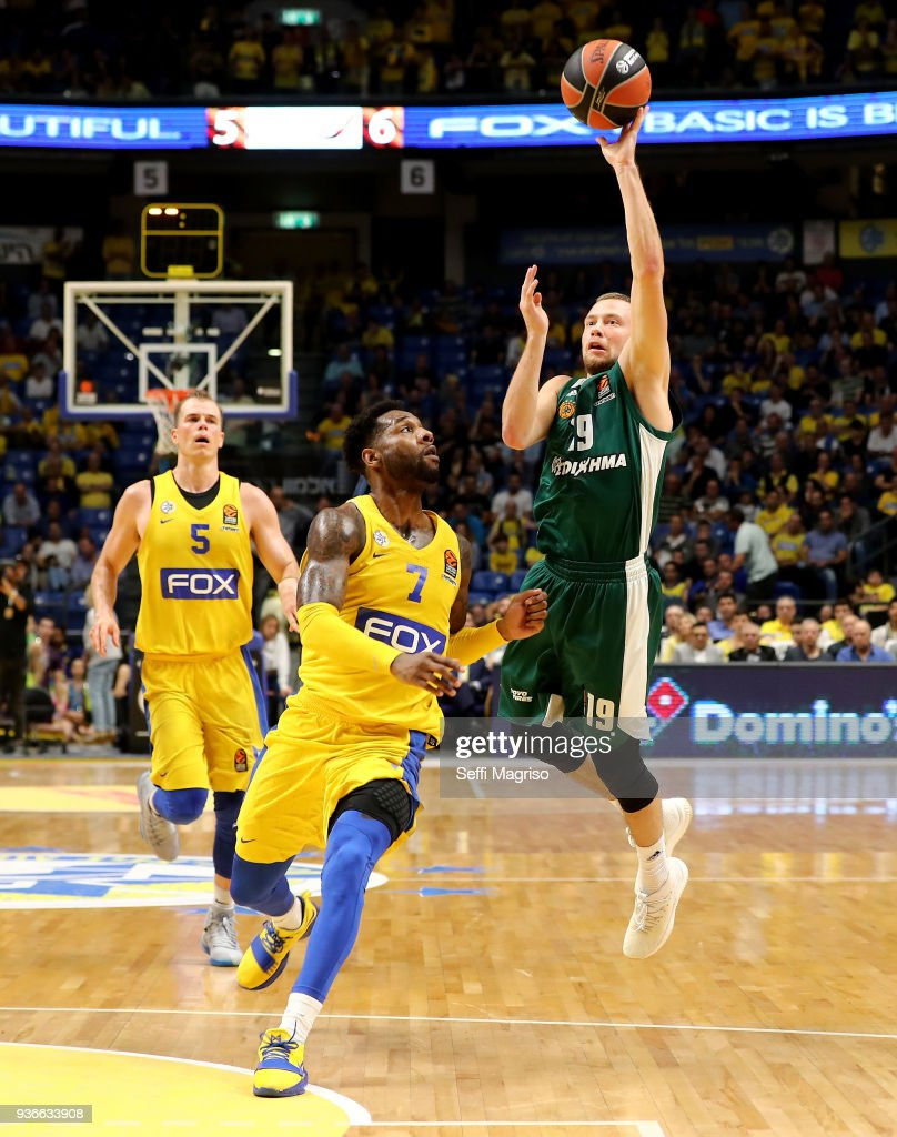 Maccabi Fox Tel Aviv v Panathinaikos Superfoods Athens - Turkish Airlines EuroLeague