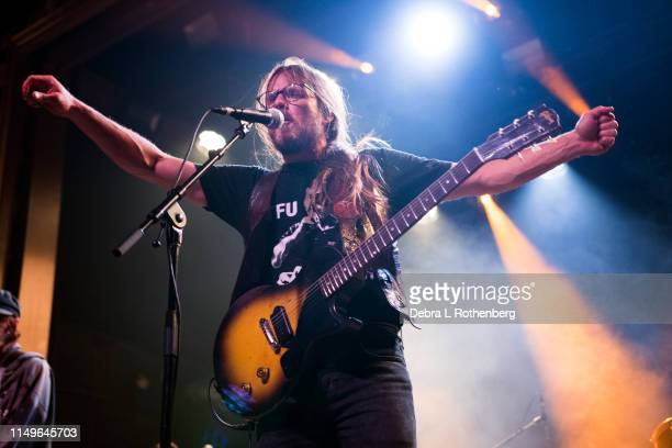 Lukas Nelson and Promise of the Real perform live in concert at Webster Hall on June 12, 2019 in New York City.
