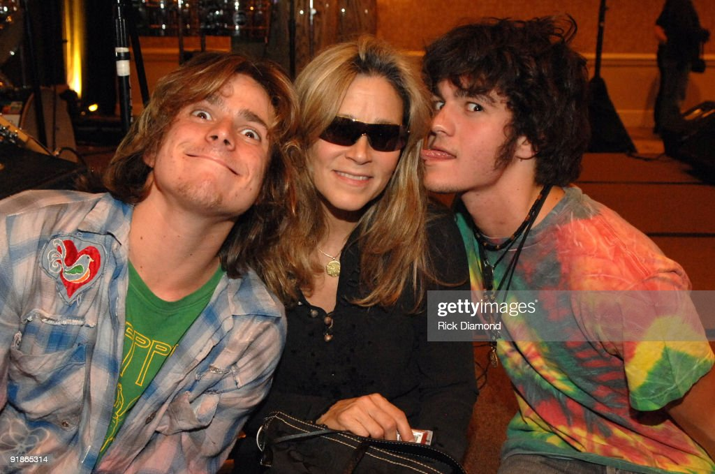 Lukas Nelson, Annie Nelson and Micha Nelson