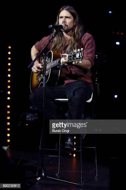 Lukas Nelson performs on day 2 of C2C Country to Country festival at The O2 Arena on March 10 2018 in London England
