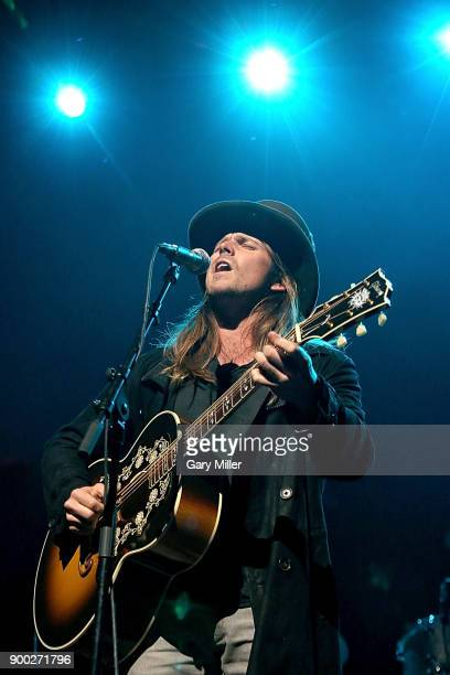 Lukas Nelson performs with Promise Of The Real at ACL Live on December 31 2017 in Austin Texas