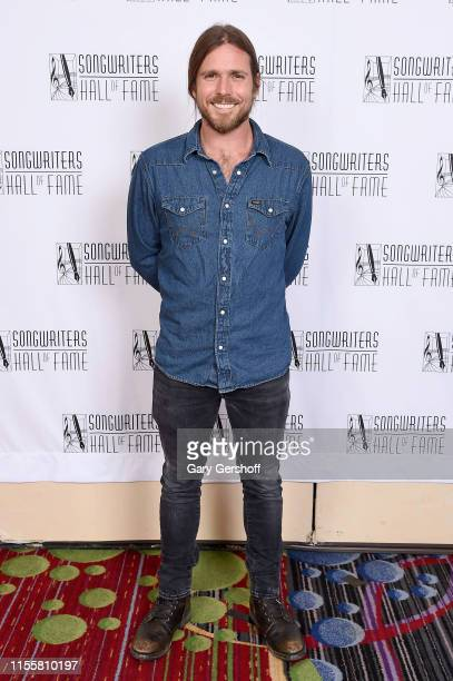 Lukas Nelson poses backstage during the Songwriters Hall Of Fame 50th Annual Induction And Awards Dinner at The New York Marriott Marquis on June 13...