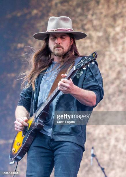 Lukas Nelson Promise of the Real perform at Festival d'ete de Quebec on July 6 2018 in Quebec City Canada