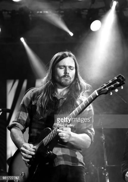 Lukas Nelson Promise of the Real performs onstage at the Pandora showcase during SXSW at The Gatsby on March 13 2018 in Austin Texas