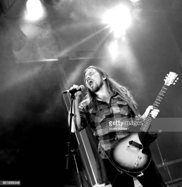 Lukas Nelson Promise of the Real performs onstage during Pandora SXSW 2018 on March 14 2018 in Austin Texas