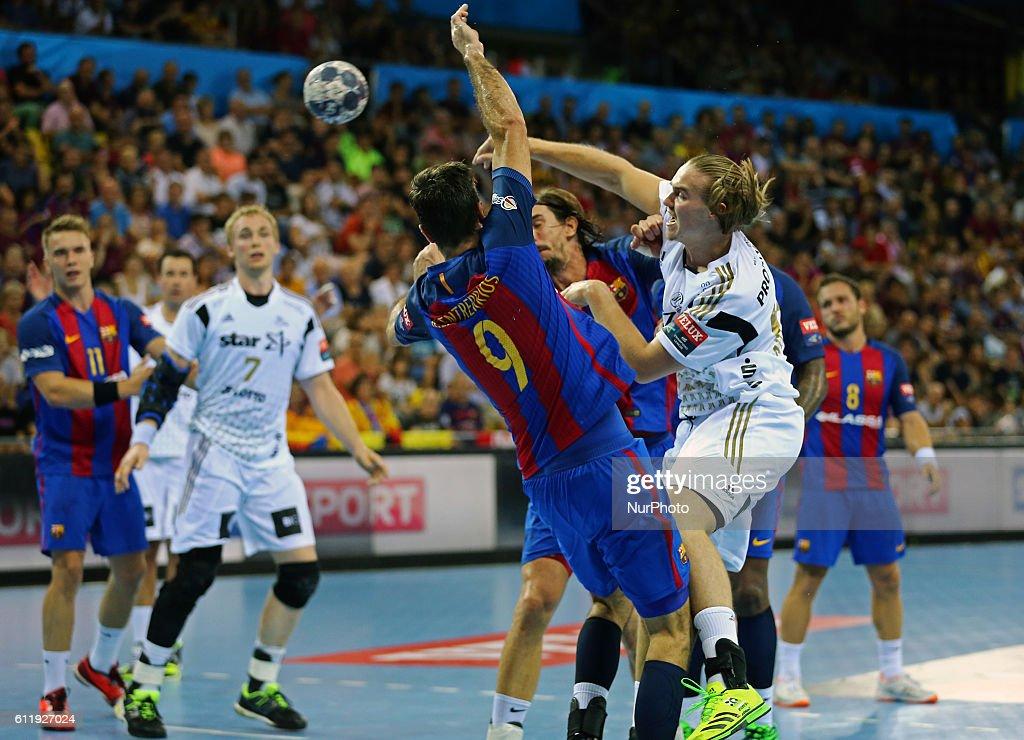 FC Barcelona v THW Kiel - handball Velux Champions League