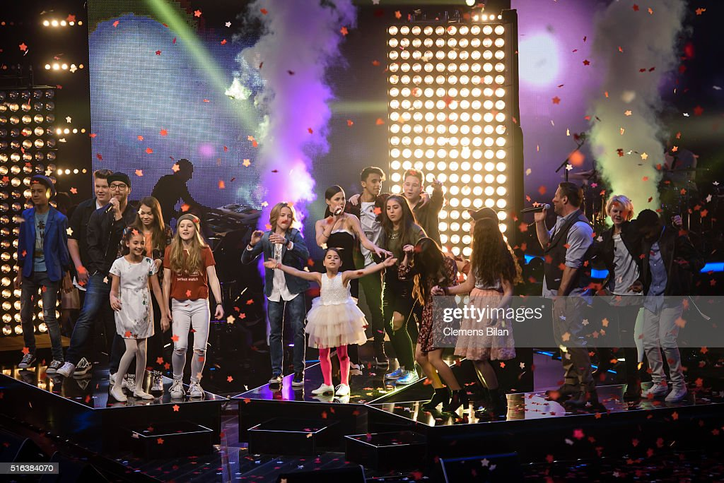 'The Voice Kids' Semi Finals : News Photo
