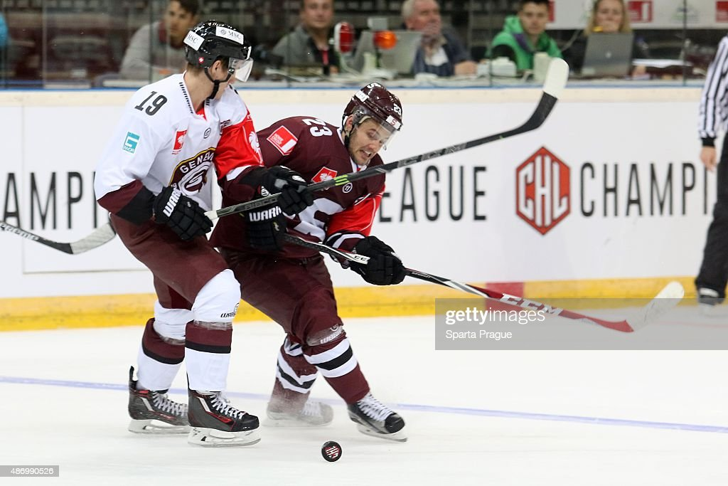 Sparta Prague v Geneve-Servette - Champions Hockey League : News Photo