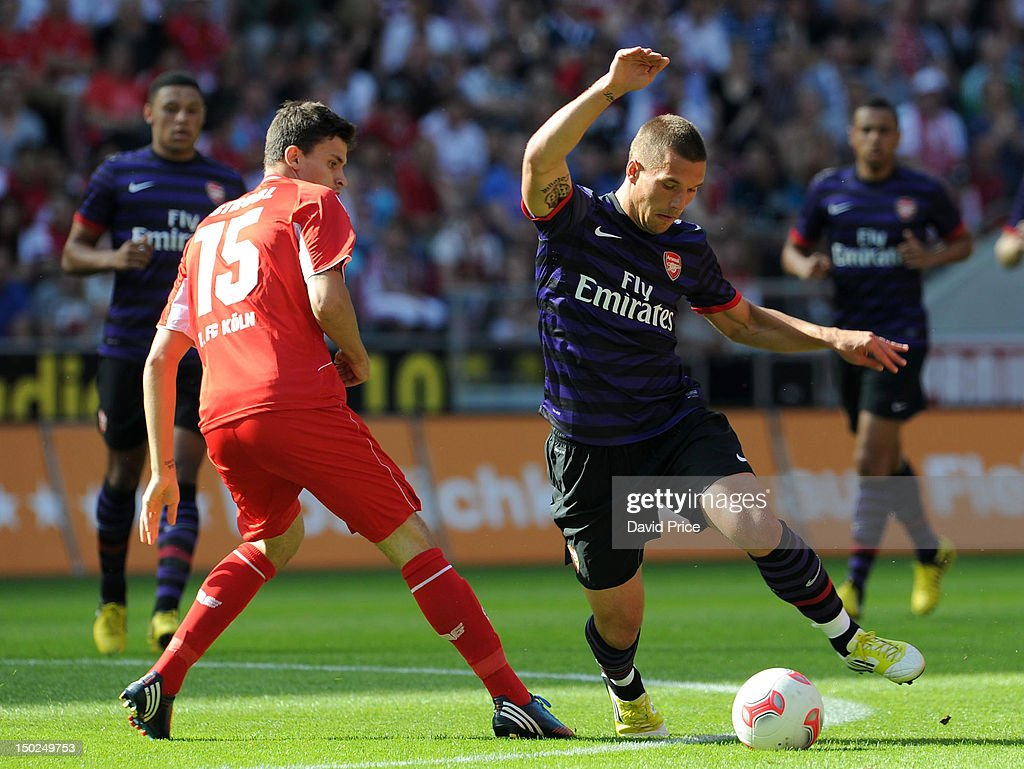FC Cologne v Arsenal - Pre Season Friendly : Nachrichtenfoto