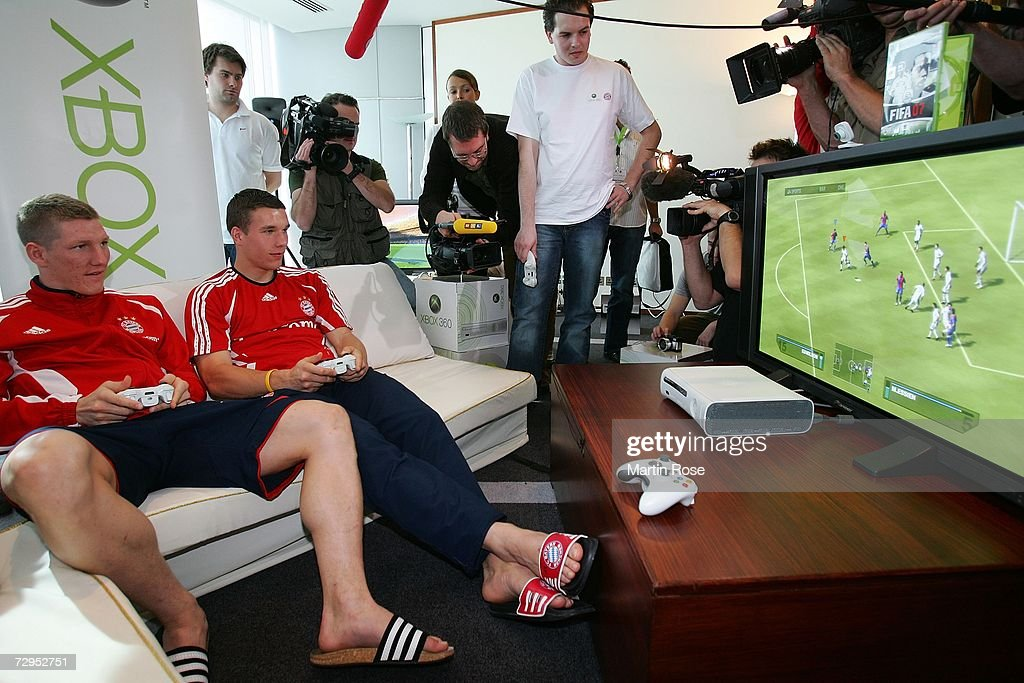 Press Conference Bayern Munich : News Photo