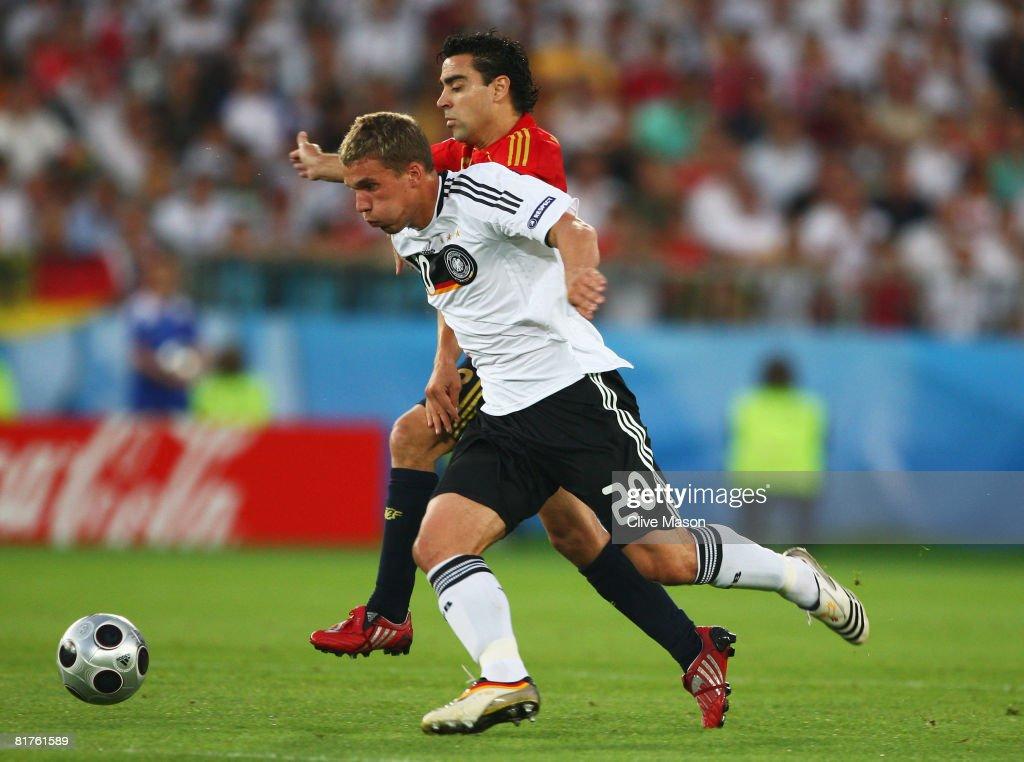 Germany v Spain - UEFA EURO 2008 Final : Nachrichtenfoto