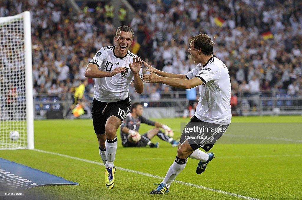 Germany v Austria - EURO 2012 Qualifier : News Photo