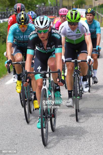 Lukas Postlberger of Austria and Team Bora Hansgrohe / during the 70th Criterium du Dauphine 2018 Stage 4 a 181km stage from ChazeysurAin to...