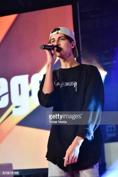 Lukas Rieger performs during the GLOW The Beauty Convention at Station on November 5 2017 in Berlin Germany