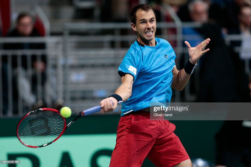 Germany v Czech Republic - Davis Cup Day 3 : News Photo