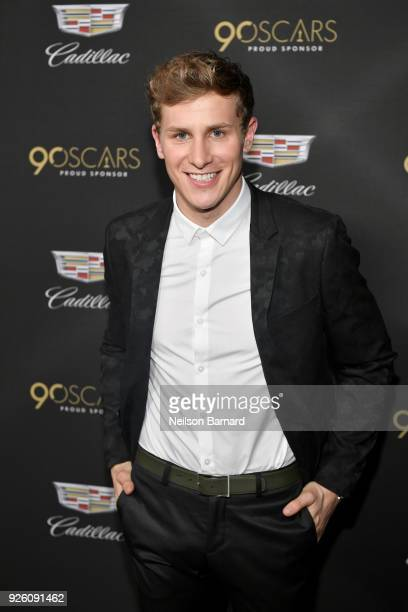 Lukas Sauer attends the Cadillac Oscar Week Celebration at Chateau Marmont on March 1, 2018 in Los Angeles, California.