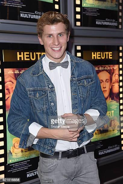 Lukas Sauer attends the 'Die Mitte der Welt' Berlin screening on November 6, 2016 in Berlin, Germany.
