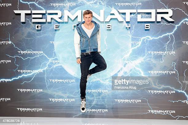 Lukas Sauer attends the European Premiere of 'Terminator: Genisys' at the CineStar Sony Center on June 21, 2015 in Berlin, Germany.
