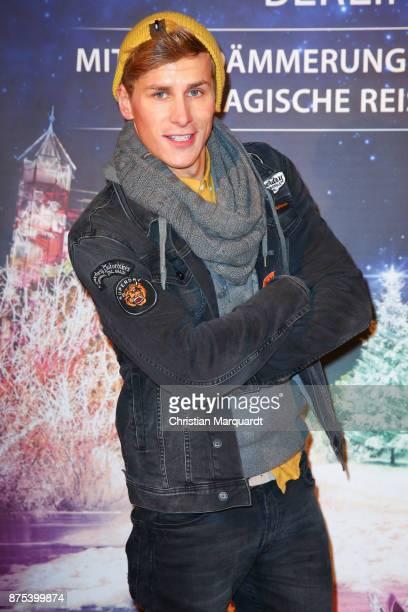 Lukas Sauer attends the the opening of the Christmas Garden Berlin at Botanischer Garten on November 17 2017 in Berlin Germany
