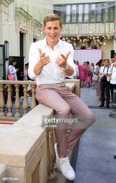 Lukas Sauer during the Grazia Pink Hour at Titanic Hotel on July 4, 2018 in Berlin, Germany.
