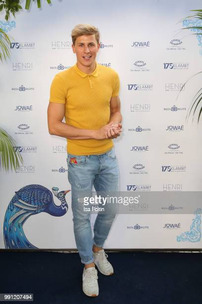 Lukas Sauer during the Klambt Style Cocktail at HENRI Hotel on July 3 2018 in Berlin Germany