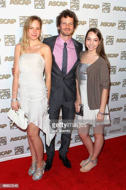Lukasz 'Dr Luke' Gottwald and dates arrive at the 27th Annual ASCAP Pop Music Awards at Renaissance Hollywood Hotel on April 21 2010 in Hollywood...
