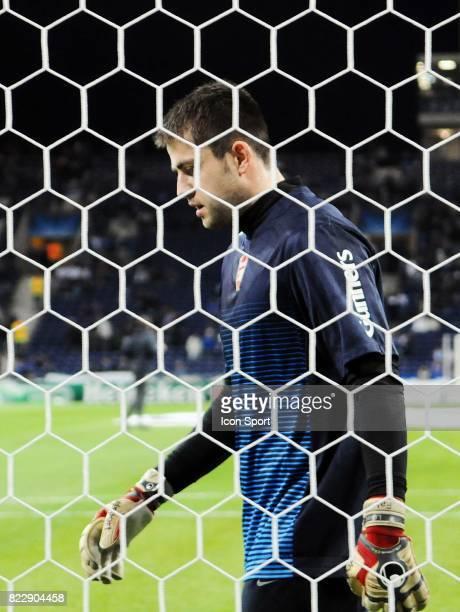 Lukasz Fabianski FC Porto / Arsenal 1/8 de Finale de la Ligue des Champions League Stade du Dragon