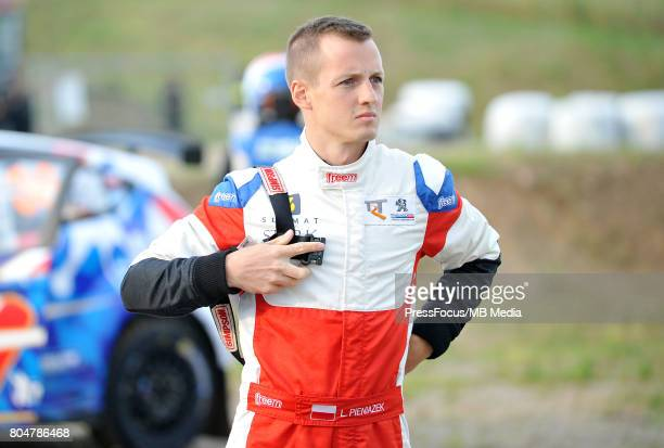 Lukasz Pieniazek POL TRT PEUGEOT WORLD RALLY TEAM during the WRC Orlen 74 Rally Poland on June 29 2017 in Mikolajki Poland