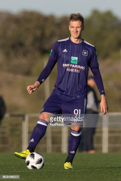 Lukasz Teodorczyk during the friendly match between FC Utrecht vs RSC Anderlecht at La Manga Club Murcia SPAIN 10th January of 2018