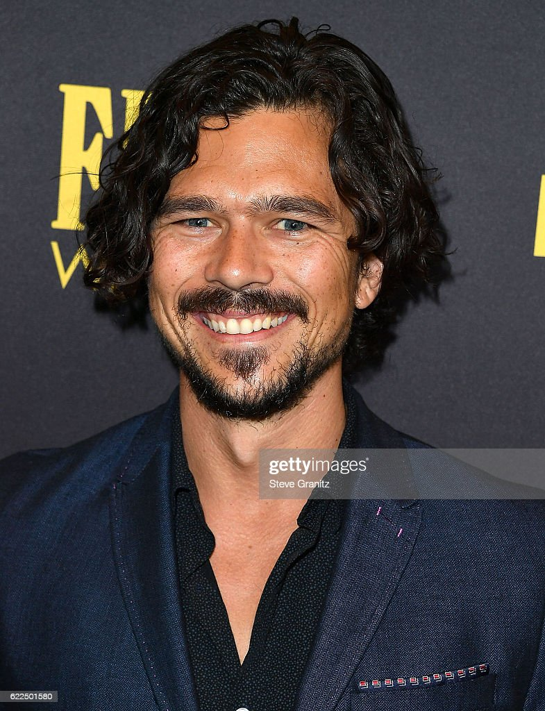 Luke Arnold arrives at the Hollywood Foreign Press ...