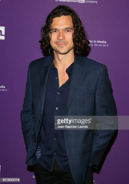 Luke Arnold attends the premiere of Momentum Pictures' 'Half Magic' at The London West Hollywood on February 21 2018 in West Hollywood California