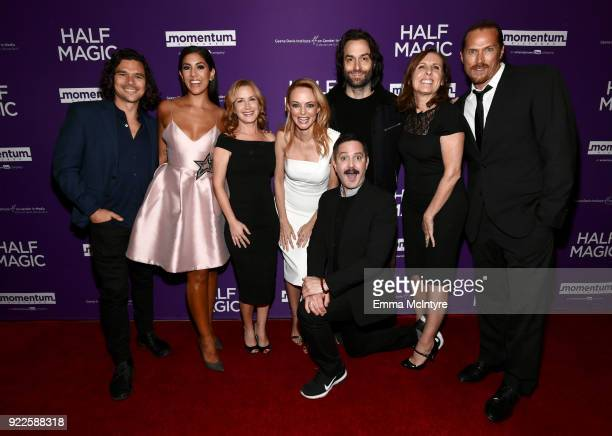 Luke Arnold Stephanie Beatriz Angela Kinsey Heather Graham Thomas Lennon Chris D'Elia Molly Shannon and Jason Lewis attend the premiere of Momentum...