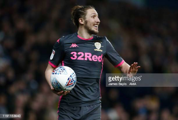 Luke Ayling of Leeds United during the Sky Bet Championship match between West Bromwich Albion and Leeds United at The Hawthorns on January 1 2020 in...