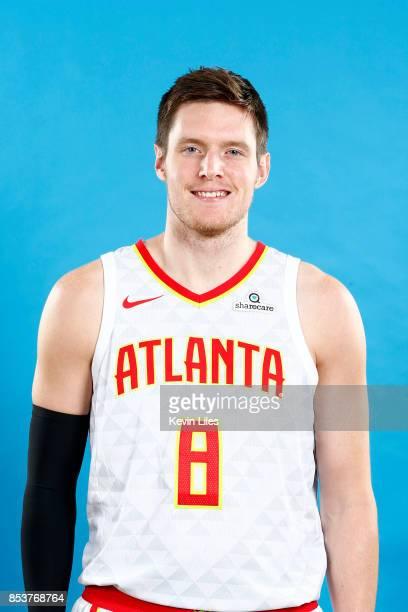 Luke Babbitt of the Atlanta Hawks poses for a head shot during Media Day on September 25 2017 at Four Season Hotel in Atlanta Georgia NOTE TO USER...