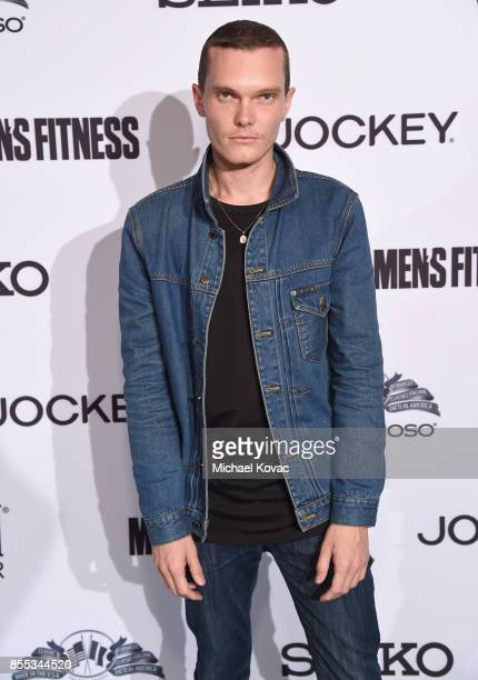 Luke Baines at the Men's Fitness Game Changers event at Goldstein Residence on September 28, 2017 in Beverly Hills, California.