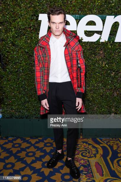 Luke Baines attends Teen Vogue's 2019 Young Hollywood Party Presented By Snap at Los Angeles Theatre on February 15, 2019 in Los Angeles, California.