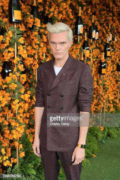 Luke Baines attends the Ninth-Annual Veuve Clicquot Polo Classic Los Angeles at Will Rogers State Historic Park on October 6, 2018 in Pacific...
