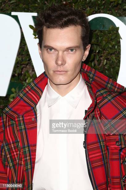 Luke Baines attends the Teen Vogue's 2019 Young Hollywood Party Presented By Snap at Los Angeles Theatre on February 15, 2019 in Los Angeles,...