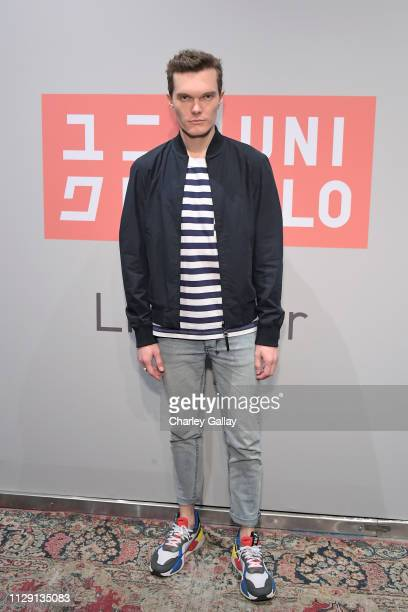 Luke Baines attends the UNIQLO 2019 Collections Celebration at Smogshoppe on March 7, 2019 in Los Angeles, California.