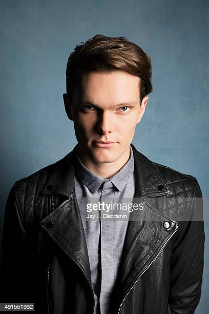 "Luke Baines of the film ""The Girl in the Photographs"" is photographed for Los Angeles Times on September 25, 2015 in Toronto, Ontario. PUBLISHED..."