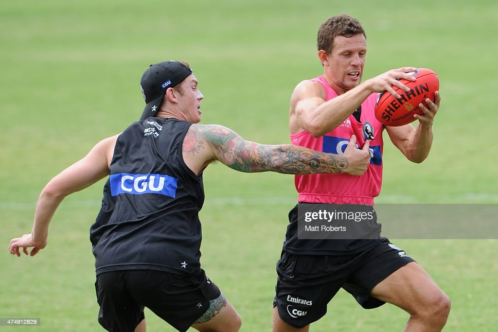 Collingwood Magpies Training & Beach Session