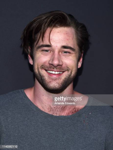 Luke Benward arrives at a special screening of Bleecker Street Media's Teen Spirit at ArcLight Hollywood on April 02 2019 in Hollywood California