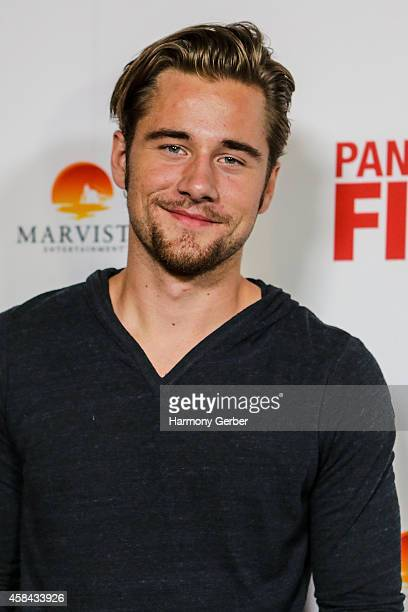 Luke Benward arrives to the Disney XD Pants On Fire premiere on November 4 2014 in Hollywood California