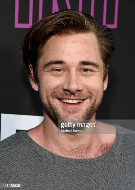 Luke Benward attends a special screening of Bleecker Street's 'Teen Spirit' ArcLight Hollywood on April 02 2019 in Hollywood California