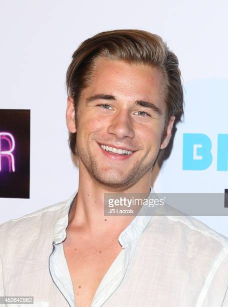 Luke Benward attends Madison Pettis Sweet 16 Birthday Party on July 24 2014 at The Emerson Theatre in Hollywood California