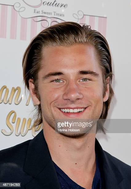 Luke Benward attends Ryan Newman's glitz and glam sweet 16 birthday party on April 27 2014 in Hollywood California