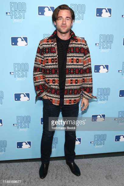 Luke Benward attends the 2019 MLB FoodFest Special VIP Preview Night at Magic Box on April 25 2019 in Los Angeles California