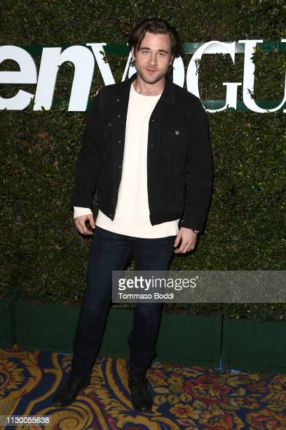 Luke Benward attends the Teen Vogue's 2019 Young Hollywood Party Presented By Snap at Los Angeles Theatre on February 15 2019 in Los Angeles...