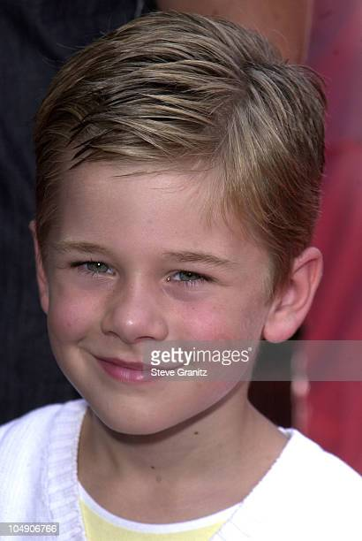 Luke Benward during The Princess Diaries Premiere at El Capitan Theatre in Hollywood California United States